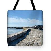 North Wall - Lyme Regis Harbour 2 Tote Bag