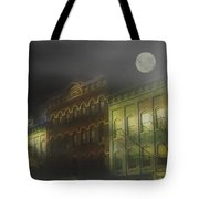 Northampton By Moonlight Tote Bag