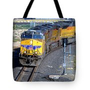 Northbound From Roseville At The Crooked Bridge Tote Bag