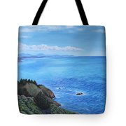 Northern California Coastline Tote Bag