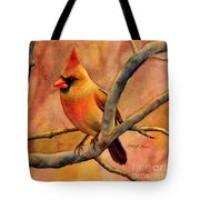 Northern Cardinal II Tote Bag