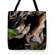 Northern Copperhead Tote Bag