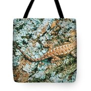 Northern Fence Lizard Tote Bag