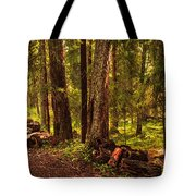 Northern Forest  Tote Bag