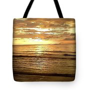 Northern Ireland Sunset Tote Bag