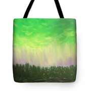 Northern Lights Of Aberdeen Tote Bag