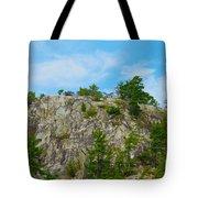 Northern Ontario Rock Face Tote Bag