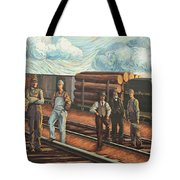 Northern Pacific Railway Tote Bag