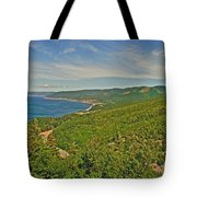 Northern Road Through Cape Breton Highlands Np-ns Tote Bag