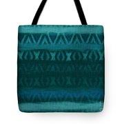 Northern Teal Weave Tote Bag by CR Leyland