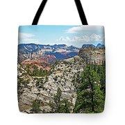 Northgate Peaks Trail From Kolob Terrace Road In Zion National Park-utah Tote Bag