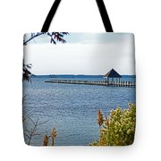 Northside Park Fishing Pier Tote Bag