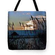 Ocean City Sunset At Northside Park Tote Bag