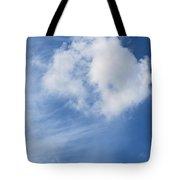 Northward Blowing Tote Bag