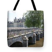 Northwest Facade Of The Chateau De Chambord Tote Bag