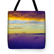 Northwest Sunrise Cloudscape Tote Bag