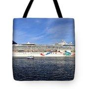 Norwegian Dawn Tote Bag