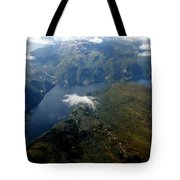 Norwegian Fjord From On High Tote Bag