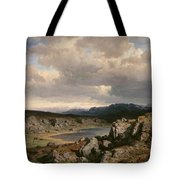 Norwegian Highlands Tote Bag