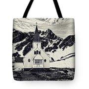 Norwegian Lutheran Church Grytviken Tote Bag