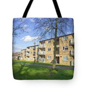 Norwich Apartments Tote Bag by Tom Gowanlock