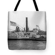 Norwich Steamboat, C1909 Tote Bag