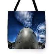 Nose Of A C-17 Tote Bag