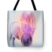 I'm The Famous Winter Nosy Spirit But I Don't Care  Tote Bag by Hilde Widerberg