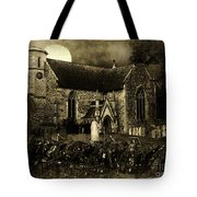Not A Creature Was Stirring Tote Bag