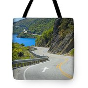 Not A Straight Path Tote Bag