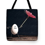 Not Eggs-actly Great Weather Tote Bag