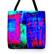 Not Fade Away - Tie Dye Tote Bag