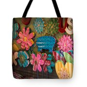 Wimberley Texas Market Lawn Ornaments Tote Bag