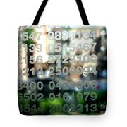 Not Just Numbers Tote Bag