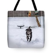 Not Lovin' This Snow Tote Bag