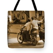Not Much Gas Around Tote Bag