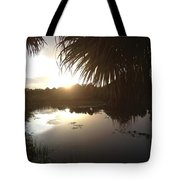 Not Quite Black And White - Sunset Tote Bag