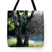 Not Raining Over Here Tote Bag