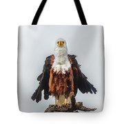 Not So Majestic Eagle Tote Bag