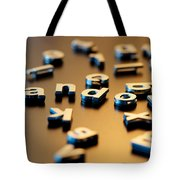 Not So Random Tote Bag