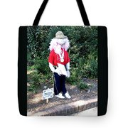 Not So Scary Junior Miss Scarecrow Tote Bag
