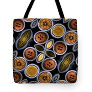 Not Your Mothers Button Box Tote Bag by Jean Noren