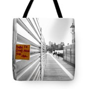 Note On A Post Tote Bag