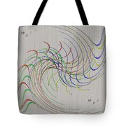 Noted Patterns Tote Bag