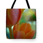 Nothing As Sweet As Your Tulips Tote Bag by Donna Blackhall