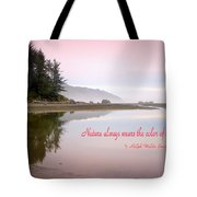 Nothing Like An Early Morning On The Oregon Coast  Tote Bag