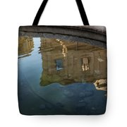 Noto's Sicilian Baroque Architecture Reflected Tote Bag