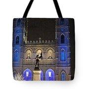 Notre-dame Basilica Of Montreal Tote Bag