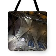 Notre Dame Ceiling South Tote Bag