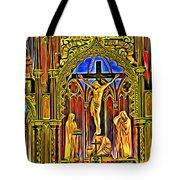Notre Dame Color Tote Bag